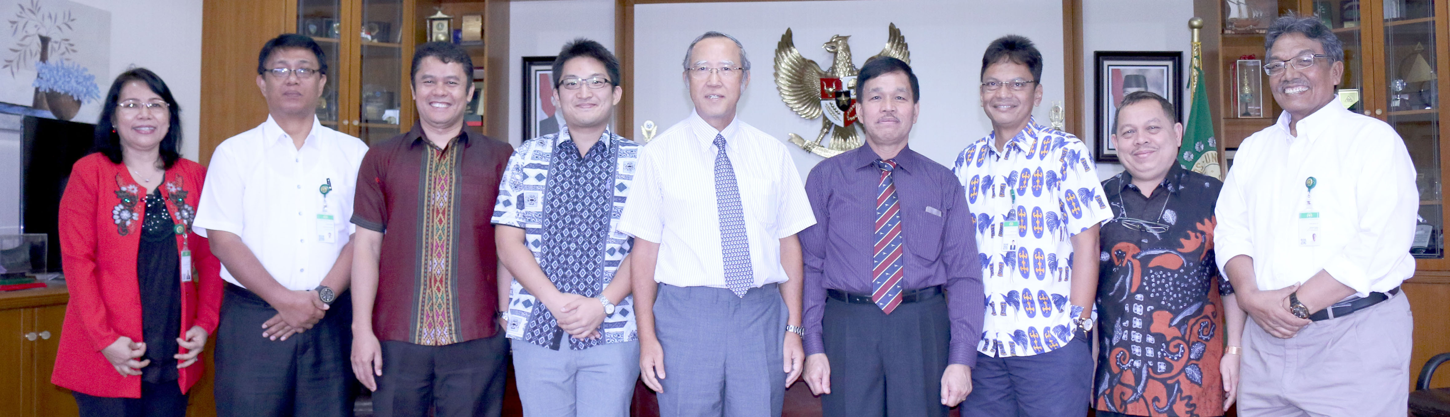 Honorary Visit of Consulate General Japan in Medan to USU